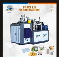 Automatic Jain Paper Cup Lid Making Machine