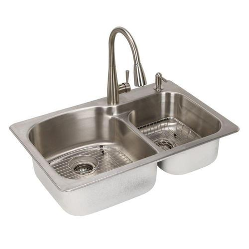Stainless Steel Double Basin Kitchen Sink Rs 2500 Piece Balaji Tiles And Sanitaryware Id 19682786988