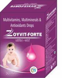 Multivitamin & Multiminerals Antioxidants Drops