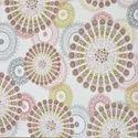 Indian White Small Mandalas Print Duvet Cover