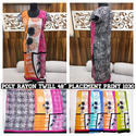 Poly Rayon Placement Printed Fabrics