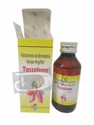 Bromhexine Hydrochloride Syrup 4 mg / 5 ml BP