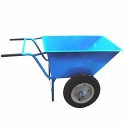 Material Handling Wheel Barrow Trolley, Capacity: 250kg