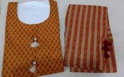 Cotton A-Line Ladies Pant Suits