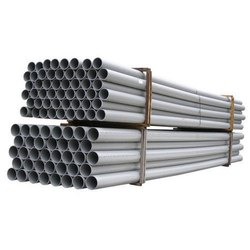 Jain Grey PVC Pipe, Length of Pipe: 6-18 m, Wall Thickness: 2 mm