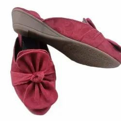 Ladies Party Wear Belly, Size: 36-41