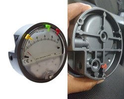 Aerosense Model ASGC-00 INCH Differential Pressure Gauge Range 0.125-0-0.125 Inch