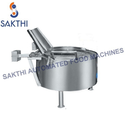Circular Potato Chips Fryer Batch Type