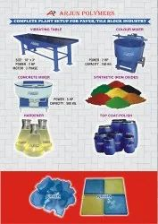 PAVER MOULDS /  MACHINERY / CHEMICAL