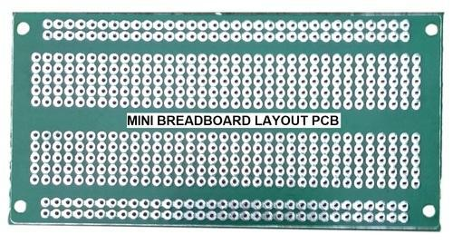 Breadboard Type Mini Prototype Pcb Veroboard For Diy Electronics Projects  General Purpose