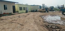Square FRP Prefabricated Site Offices, For school