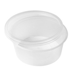 Airtight Transparent Round Containers