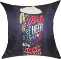 Astara Satine Fabric Digital Printed Cushion Cover