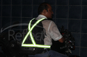 Adjustable High Night Visibility Safety Reflective Cross Stretchable Belt