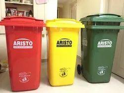 Aristo Plastic Garbage Dustbin 120 Ltr 2 Wheels
