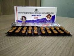 Paracetamol, Phenylephrine HCL ,Caffeine & Diphenhydramine HCL Tablet