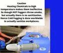 Cold ULV Electrostatic Fogger Sanitizer Machine - Does Not Heat & Damage Chemicals