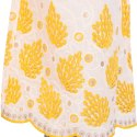 Ladies Chikan Yellow Embroidery Palazzo