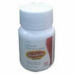 Herbal Iron And Calcium Tablets, Packaging Type: Bottle