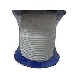 White Ptfe Universal Rope Gaskets, For Industrial, 300 Deg C