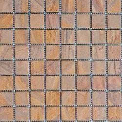 Capstona Stone Mosaics Yellow Tiles