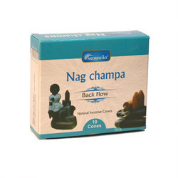 Nag Champa Back Flow  Incense Cone