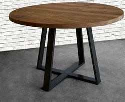 Metal Wood Table