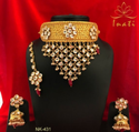 Kundan Jewelry, Indian Jewelery, Traditional Jewelery And Stones Necklace,Maang Tika