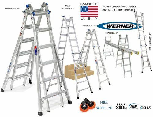 Multi Purpose Ladders Euro Gorilla Series 7 To 11 Ft