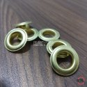 No. 28 Brass Male & Female (Eyelets & Washers) Golden