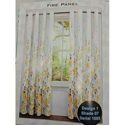 Polyester Printed Designer Window Curtains