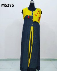 Khadi Silk Embroidered Kurti