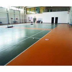 UV Coated Sports Flooring