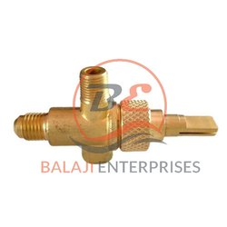 Medium Pressure Brass Gas Valve, Model Name/Number: BV20