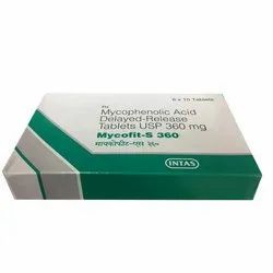 360 Mg Mycofit S Tablet, For Cancer Treatment, Packaging Size: 6 X 10 Tablets