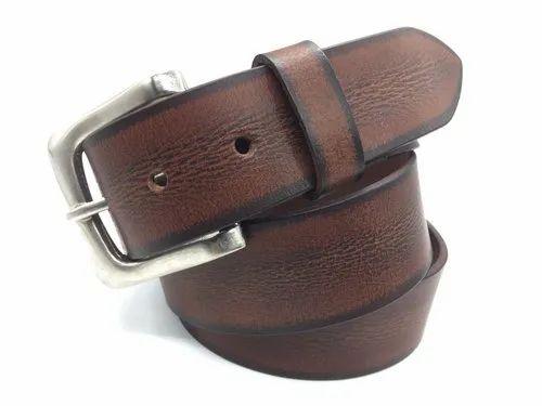 2aad1350b30 CUSTOM Pin Buckle Casual Mens Leather Belt