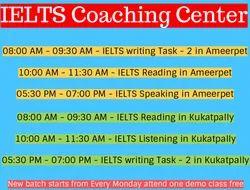 IELTS Coaching in Hyderabad - IELTS Online Coaching - Best IELTS Coaching Center in Hyderabad