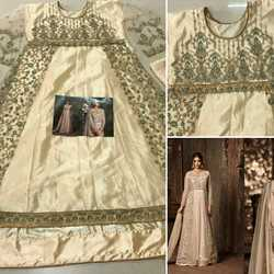Pramukh Georgette Heavy Mono Net With Embroidery Work Salwar Suit, Dry clean