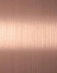 S.S 304 Stainless Steel Sheet Rose Gold
