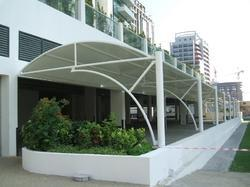 Car Porch Parking Shed