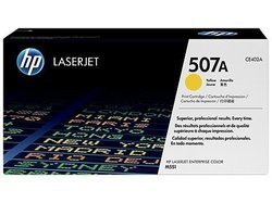 HP CE402A 507A Yellow Toner Cartridge