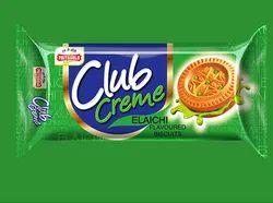 Priya Gold Classic Creme Elaichi Biscuit, Packaging Type: Packet