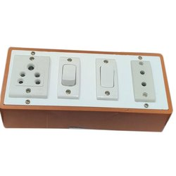 I10 Pvc 4 Way Electrical Switch Board, 2
