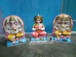 Shiv Family Marble Statue