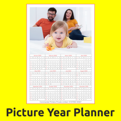 2 - 5 Days English Year Planner Printing Service, For Office, Home etc., in Chennai