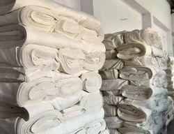 Silk White Fabric