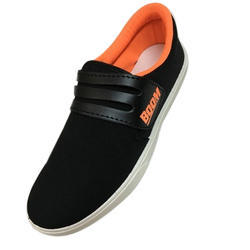 Black Boys Casual Shoes, Size: 6*9