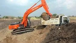 Available On Rent Basis Hydraulic Excavator Tata Hitachi  Ex 200