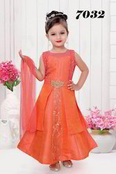 Trendy Beautiful Frock Suit for Girls