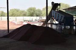 Red Abrasive Garnet Sand